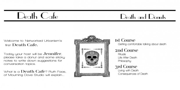 Death Cafe Menu