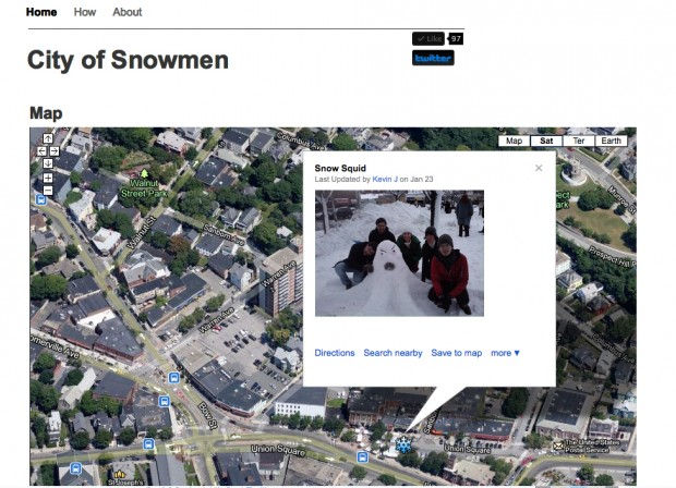 City of Snowmen interface