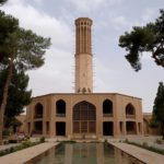 Bagh-e Dolat Abad badgir in Yazd, Image courtesy of  http://www.iwanderwhy.net/