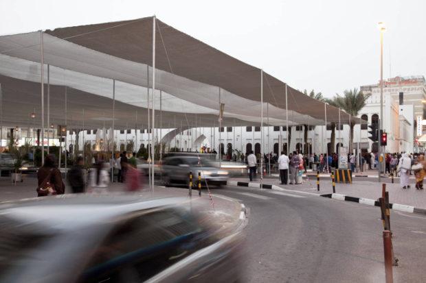 Bab al Bahrain Pavilion, image courtesy of Eman ali