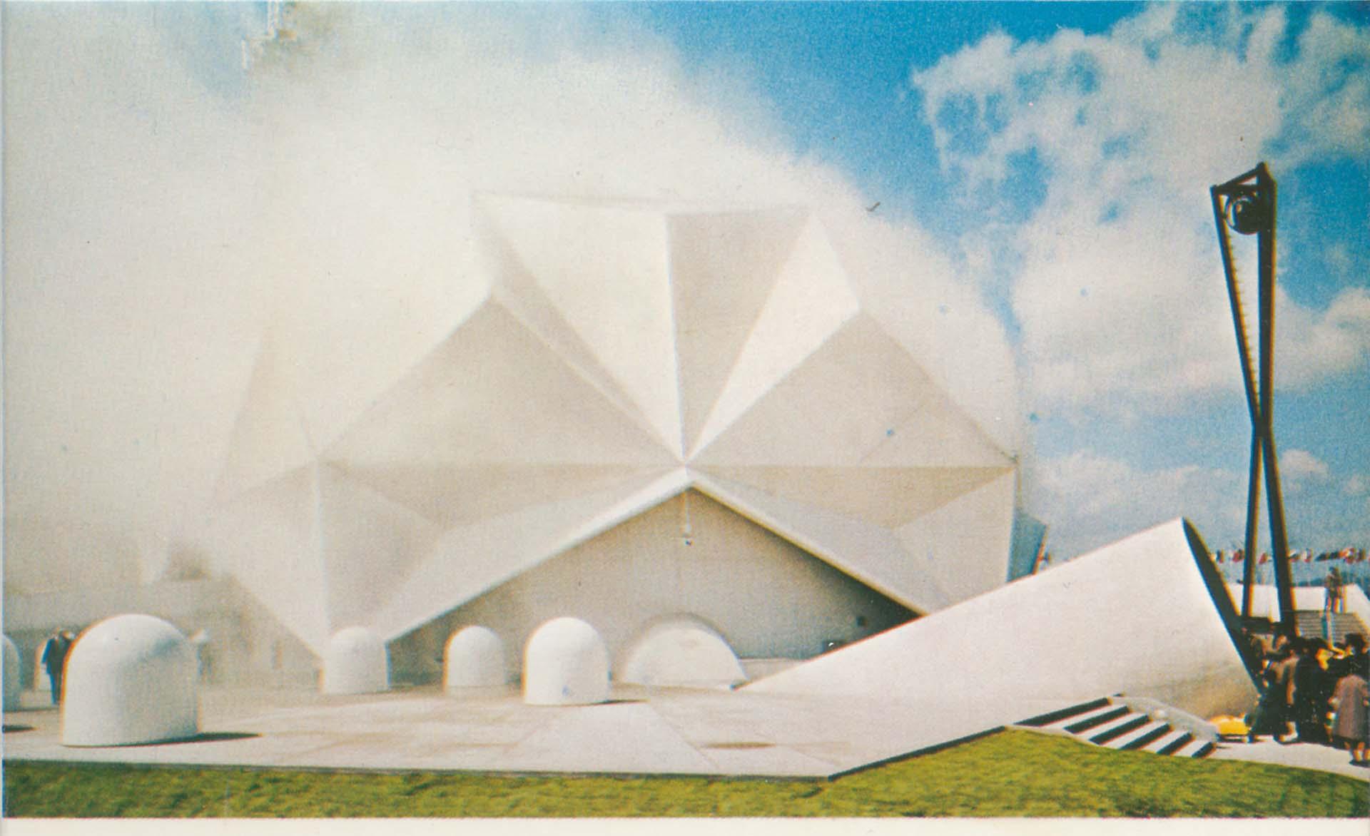 Pepsi Pavillion, A.E.T. Osaka EXPO 1970, Osaka.