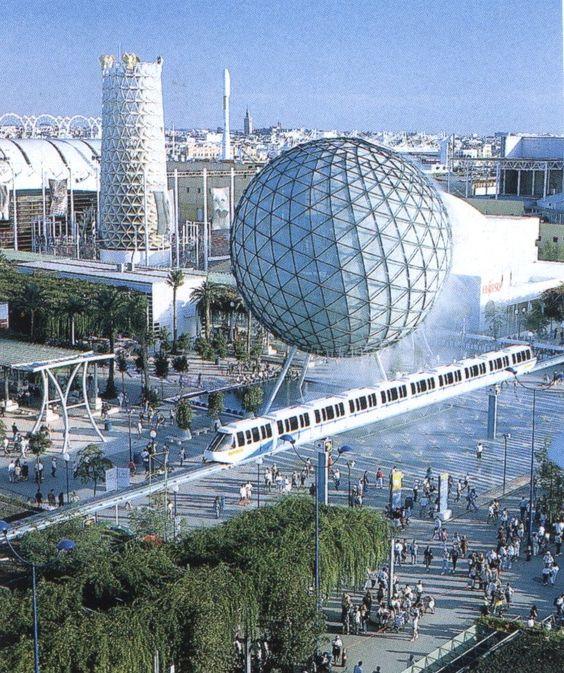 Esféra Bioclimática, EXPO Sevilla 1992.